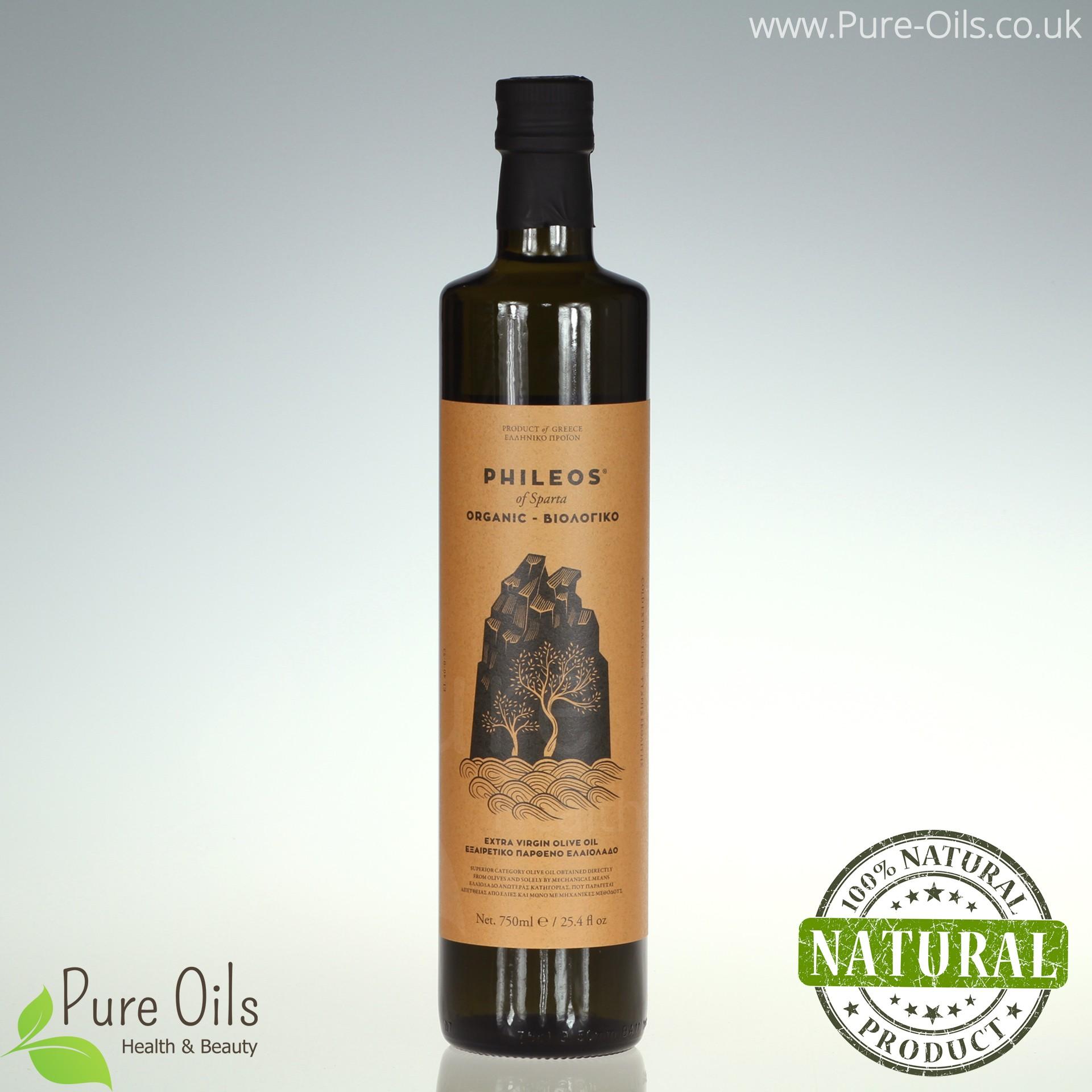 Olive Oil - Organic - Extra Virgin, Phileos of Sparta,...