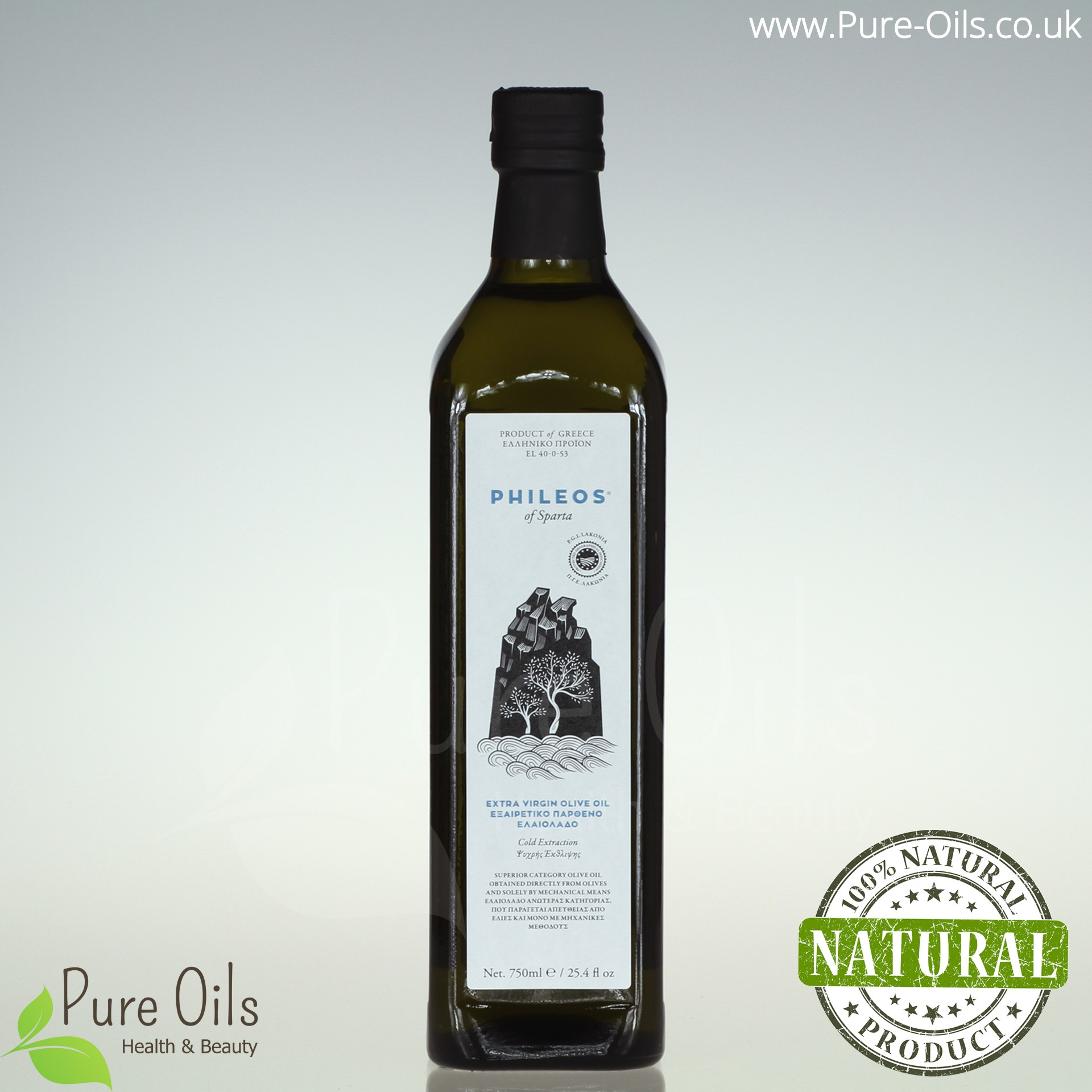 Olive Oil - Extra Virgin, Phileos of Sparta, Greece