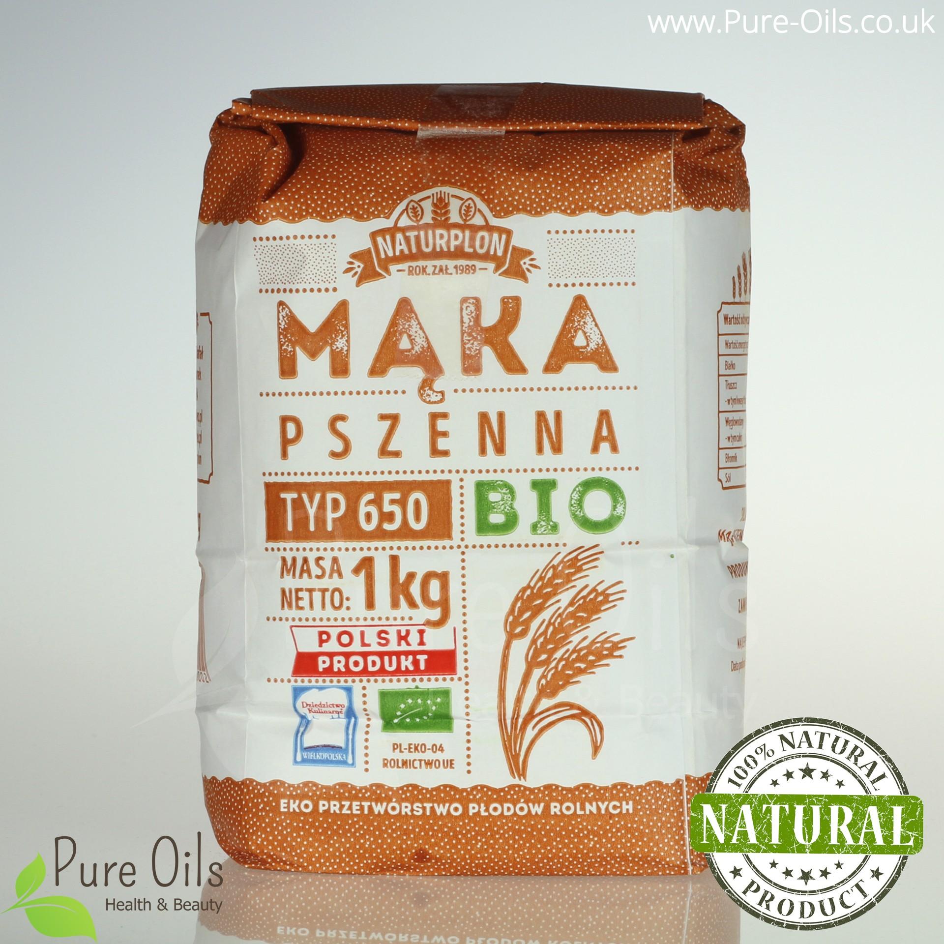 Mąka Pszenna, Typ 650 - Bio, Naturplon