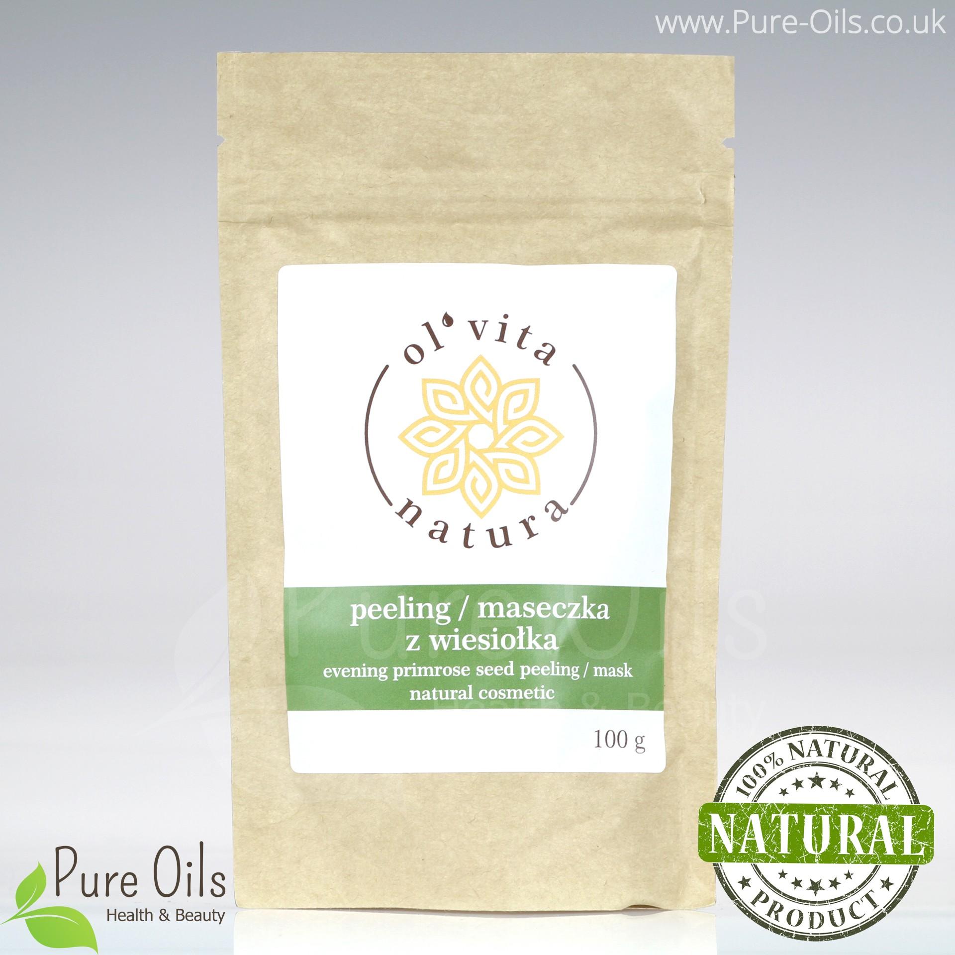 Evening Primrose Seed Peeling /Mask, Powder, Ol'Vita 100g