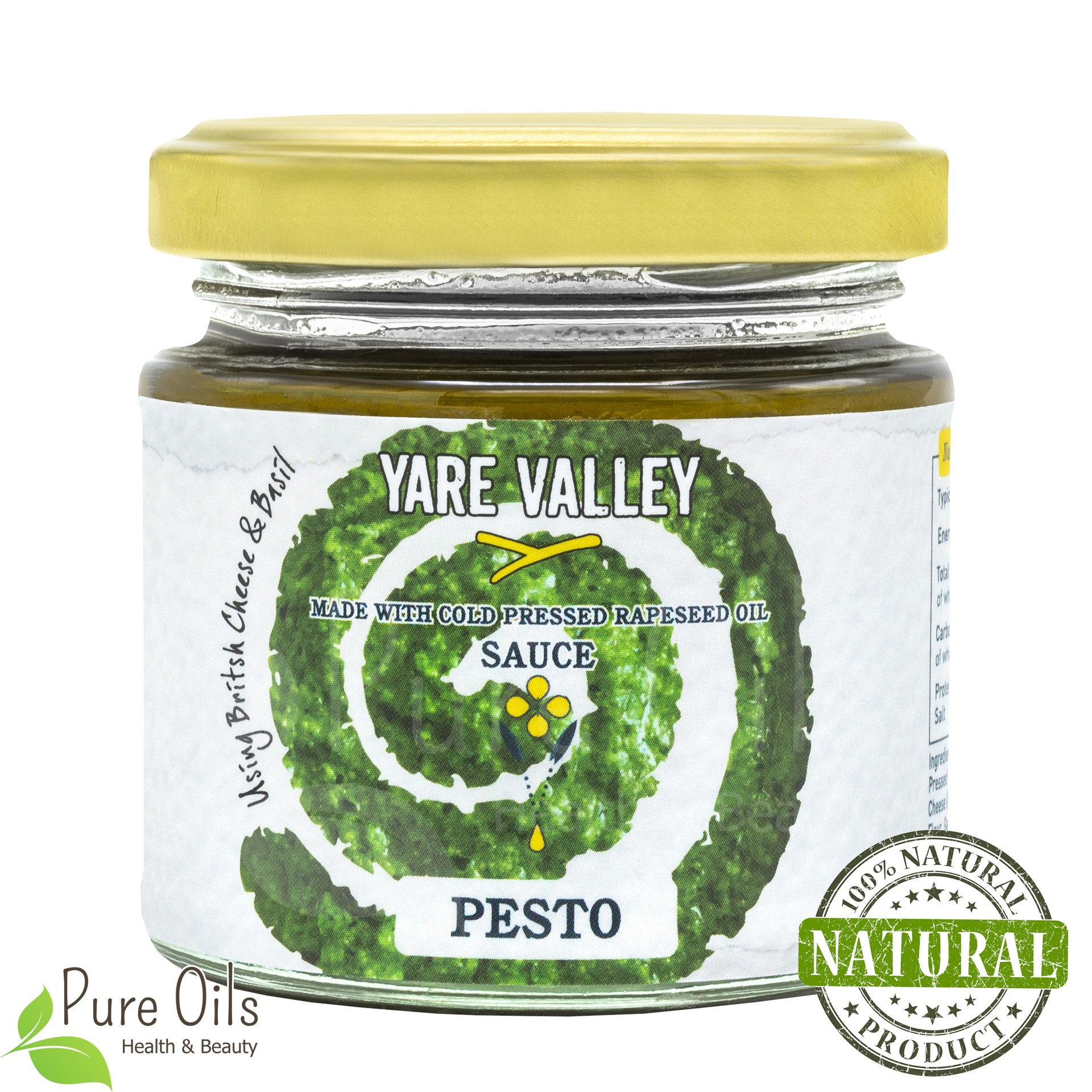 Pesto Sauce, Yare Valley