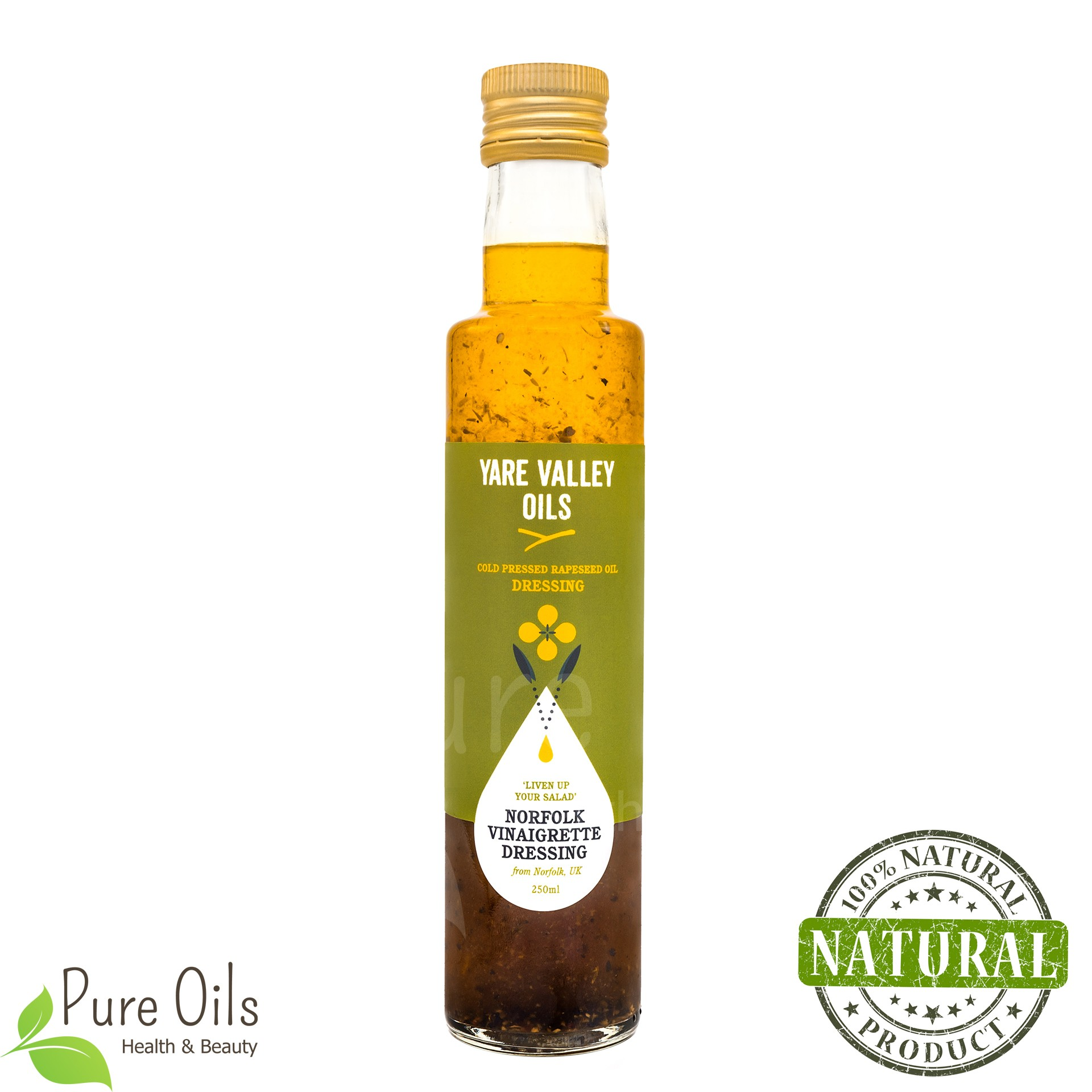 Vinaigrette Dressing, Cold Pressed Rapeseed Oil, Yare Valley