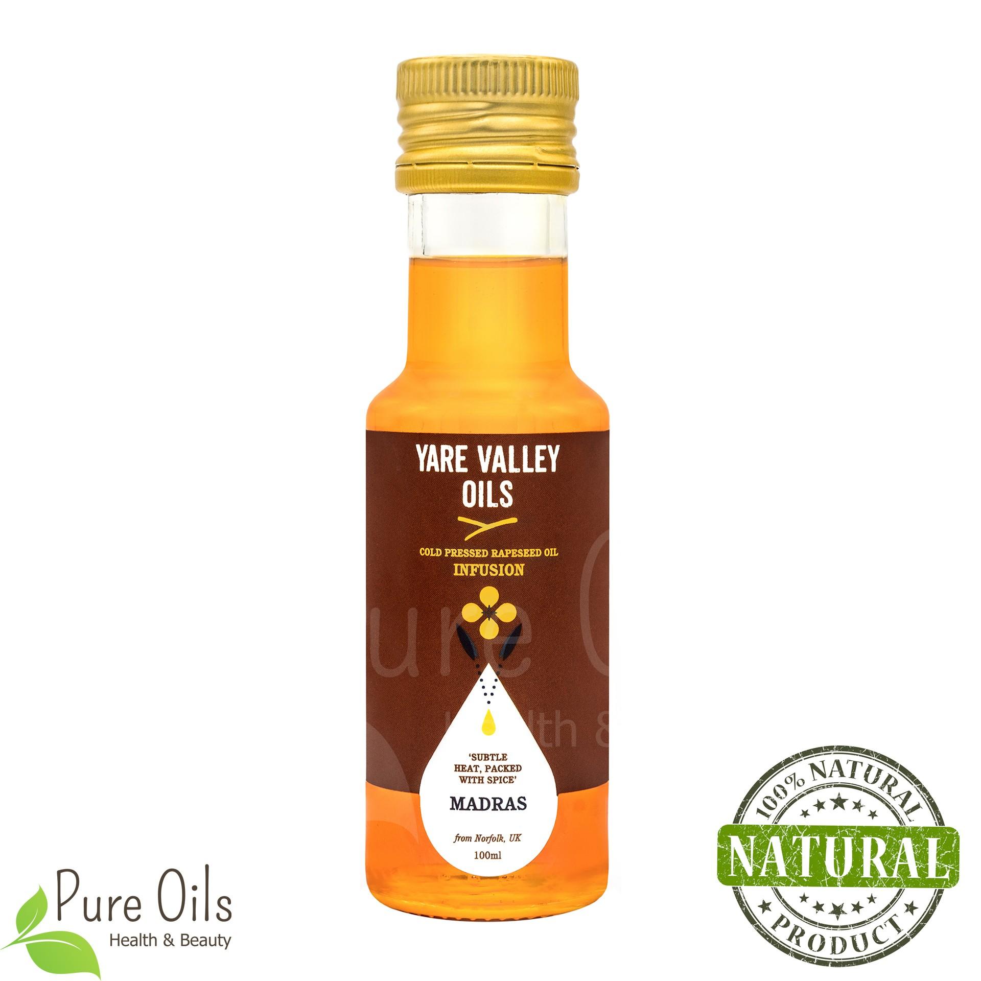 Olej Rzepakowy - Madras Zimnotłoczony, Yare Valley