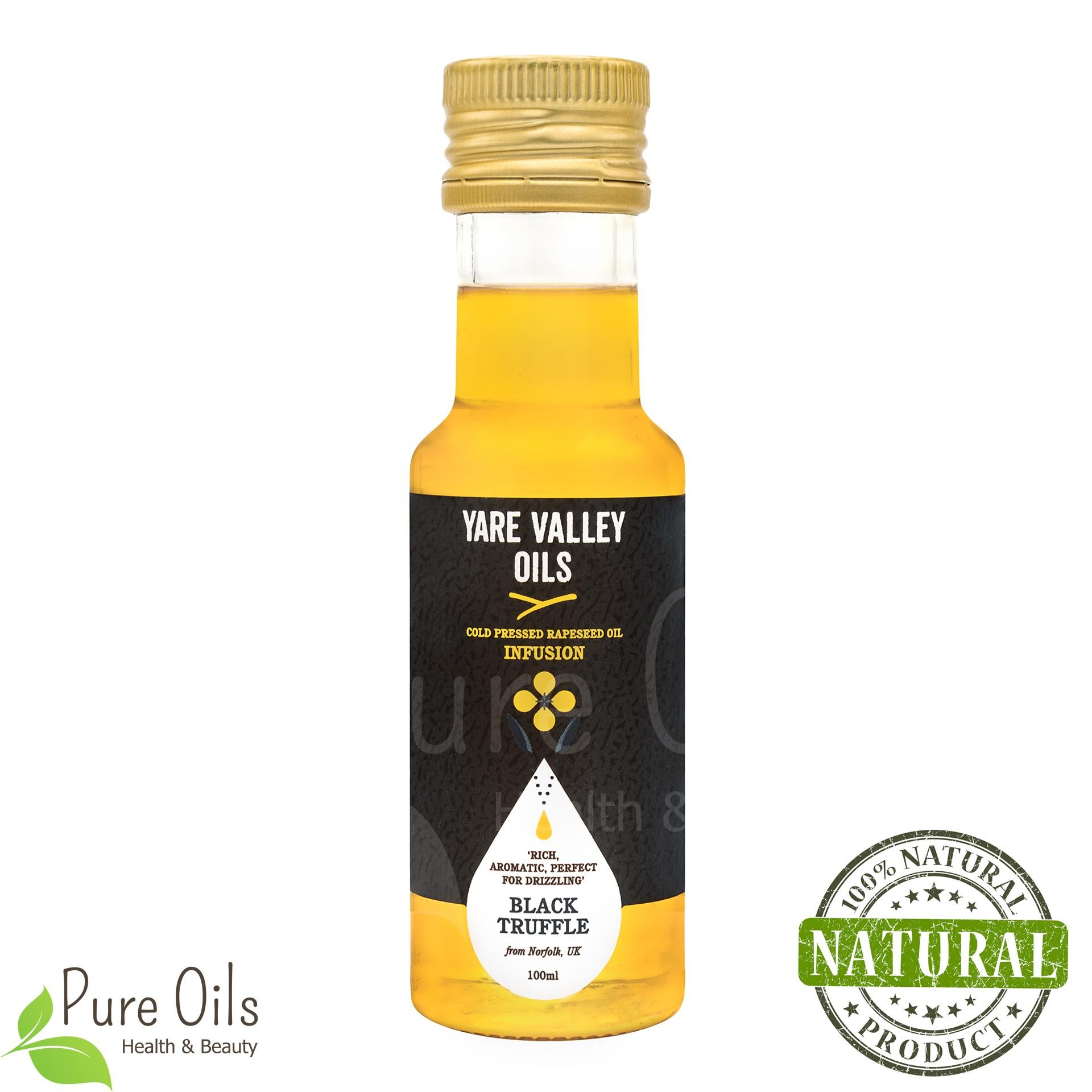 Olej Rzepakowy - Trufla Czarna, Zimnotłoczony, Yare Valley