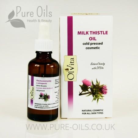 Milk Thistle Oil, Cosmetic, Cold-Pressed, Ol'Vita 50 ml